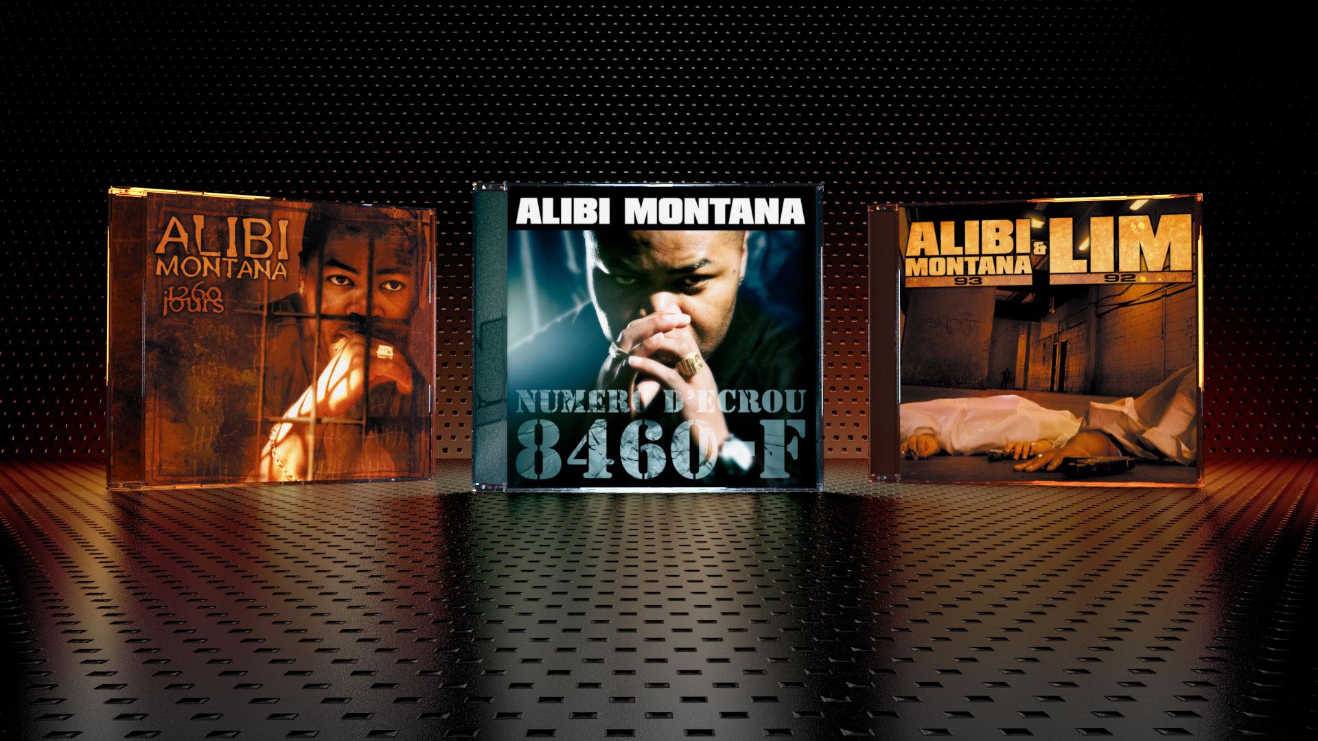 Photos and Sleeve Album design for Alibi Montana, and LIM : 1260 Jours, Numéro d'écrou, Rue.